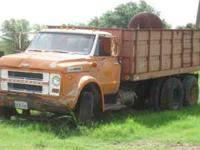 C60 Chevy Grain Truck. Runs good. Needs brakes.