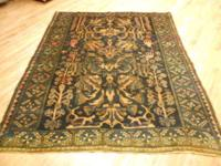 # 50924 6' 8 x 8'0 pure wool hand knotted in Iran