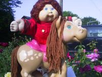 Cabbage patch doll and cabbage patch horse both for $10