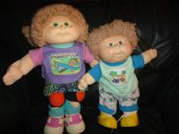 These two dolls have never been played with by children