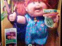 MADE BY MATTEL IN 1995: 14'' CABBAGE PATCH SNACKTIME