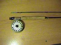 For Sale. I have a fly fishing rod and reel. The rod