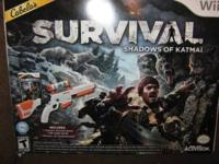 WII SURVIVAL GAME 4 SALE LIKE NEW IF INTREASTED PLEASE