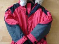 TIRED OF BEING COLD. I used this snow suit to fish out
