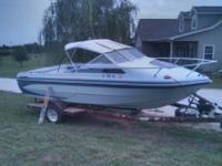 I have a 19 ft GLASTRON Conroy X19 cabin cruiser. It