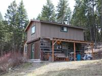 Cabin located in the Rocky Mountains of Montana 1 Bed,
