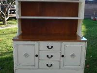 SHABBY CHIC,FRENCH COUNTRY STYLE CABINET/CHINA