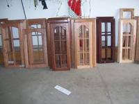 OAK,CHERRY AND MAPLE PRE FINISHED CABINET DOORS $7.00
