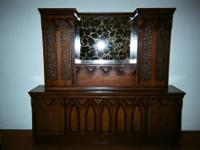 Excellent condition. All Walnut wood. Two pieces; top