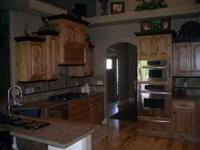 Custom built cabinets and kitchen remodel.. from floor