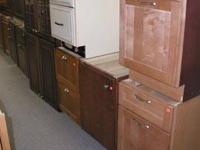 Just arrived 1 1/2 truck loads of cabinets. Some