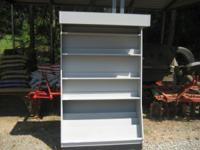 I have three cabinets with four ajustable shelves that