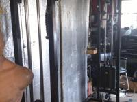 Attachments included New cables 170 lb stack's Pull-Up