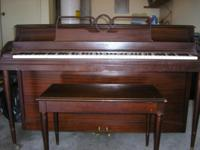 Description piano from my moms estate. Cable Nelson