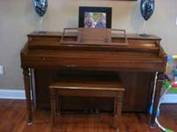 I have a Hobart Cable Upright piano for sale. $500 OBO.