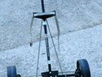 Caddywagon Golf Caddy 2 Wheel Model #CWC1510WS-D 57""