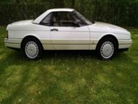 1992 Cadillac Allanté with Hard and Soft Tops This is a