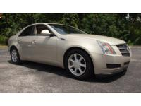 Amazing 2008 Cadillac CTS in beautiful Gold. Loaded
