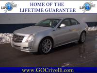 LIFETIME POWERTRAIN WARRANTY!! LOADED!!! THIS CADILLAC