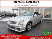 Have we got the sedan for you! This 2011 CTS-V runs on