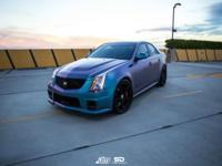 For your consideration is a 2013 Cadillac CTSV Sedan