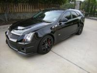Pristine CTS-V Wagon, Excellent Condition, Garage Kept,