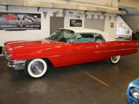 Show stopping 1963 Cadillac Convertible. original