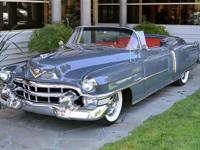 1953 Cadillac Eldorado Special Sport Convertible VIN: