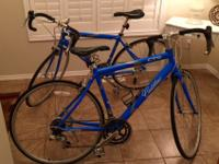 Cadillac Electric Blue CTS Road Bikes Like New!! Size: