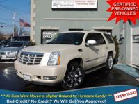 TAKE A LOOK AT THIS WHITE 2007 CADILLAC ESCALADE WITH