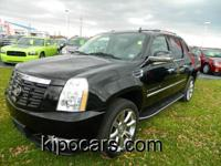 Escalade EXT trim. Heated/Cooled Leather Seats,