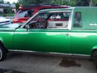 Cadillac lowrider for sale.Excelllent candy green paint