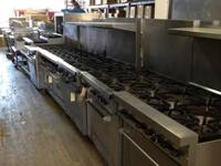We provide! NEW and APPLIED Restaurant Supplies and