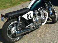 1982 Suzuki GS550LZ .Cafe Racer build. Complete