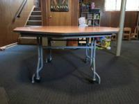 Two Tables for Sale - $200 Each OBO.  Octagon-shaped