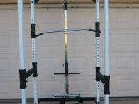 full cage with high / low pulley system $450.00 call