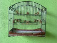 CAGE , $150.00 the cage has eight spaces the cage has