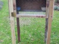 Great outdoor bunny cage. Nice & sturdy cage. Ideally