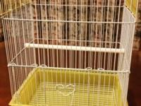 Cages for small birds: finches, canaries, love birds