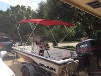 Great Condtion 115 HP Yamaha saltwater edition with