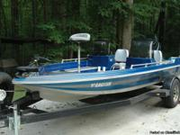 For Sale  ?86  Cajun Bass Boat,  17?