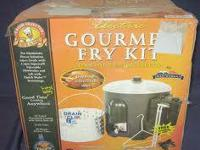 Cajun Injector Electric Gourmet Fry Kit  LIKE NEW -