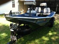 Cajun Special in great condition.  Boat is ready to go