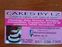 CUSTOMIZED CAKES BY LZ. Customized made fresh baked