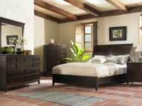 4 Piece bedroom Group Cal. King bed, Dresser, Mirror,