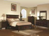 Complete Cal King Bedroom set with Orthopedic Pillowtop