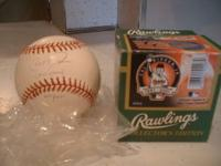 OFFICIAL RAWLINGS CAL RIPKEN JR. FINAL GAME