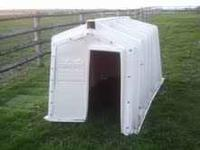 Calf-tel hutches, good condition 125.00 each. Call