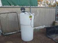 32 gallon PolyDome milk mixer. Mixes 60 - 1/2 gallon