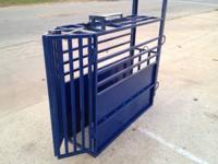 Newly built calf roping chutes, $495. Made from 14